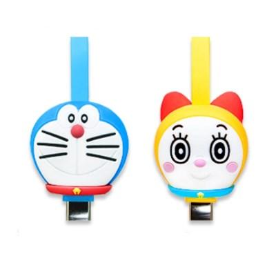 도라에몽 라이트닝/Micro USB/TYPE C 케이블