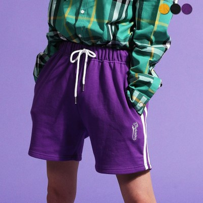 Two Stripe Track Shorts(3color)(unisex)