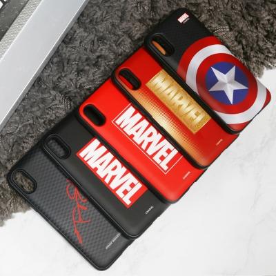 마블 로고 정품 카드 케이스 MARVEL 아이폰 갤럭시 LG