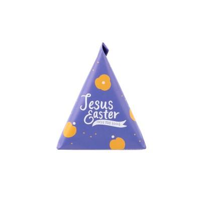 부활절 1구 삼각형봉투(10매)_퍼플606