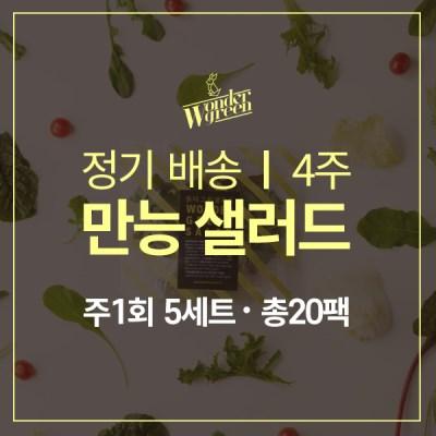 [정기배송]만능샐러드 5팩x4주(총20팩)