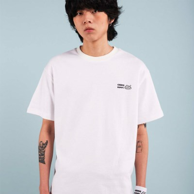 BUMPS T-SHIRT / WHITE