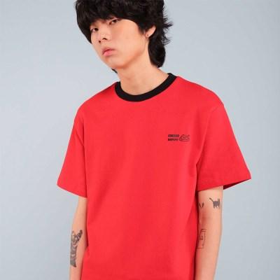 BUMPS T-SHIRT / RED