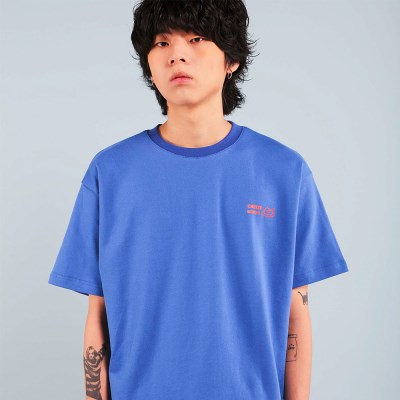 BUMPS T-SHIRT / BLUE