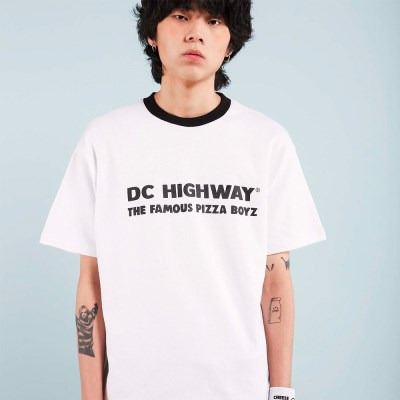 DC BOYZ T-SHIRT / WHITE