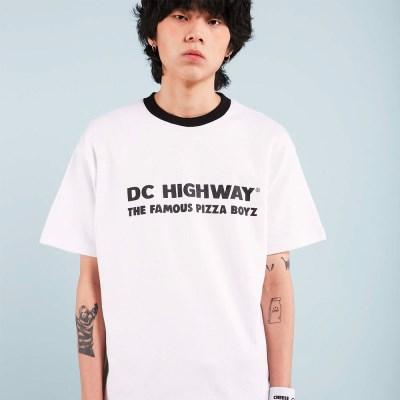 DC BOYZ T-SHIRT / WHITE