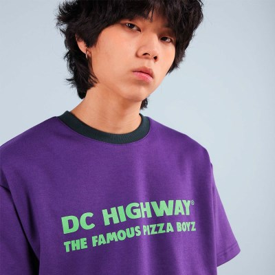 DC BOYZ T-SHIRT / PURPLE