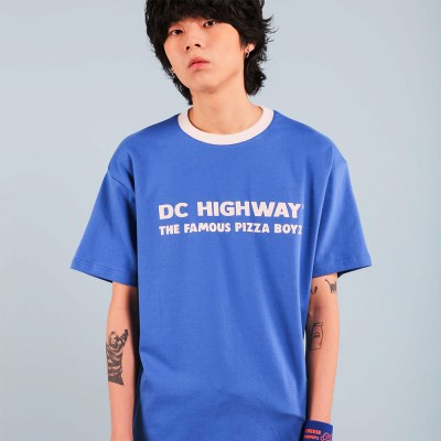 DC BOYZ T-SHIRT / BLUE