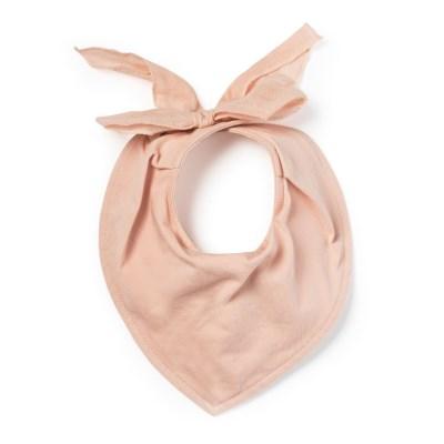 스카프빕 방수턱받이-파우더 핑크