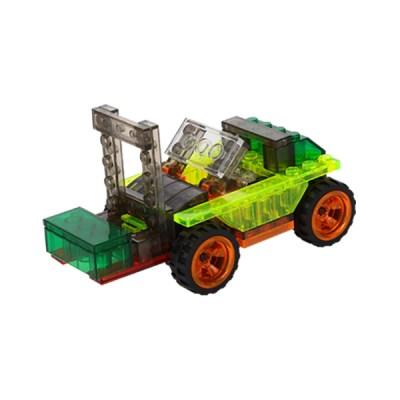 LED 크리스탈블럭 - 지게차