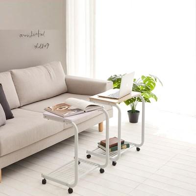 리브온 너트 침대/쇼파 사이드 테이블