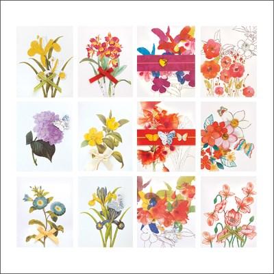 꽃 미니카드 FT50477(12종)