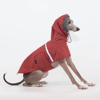RAIN COAT [RED]