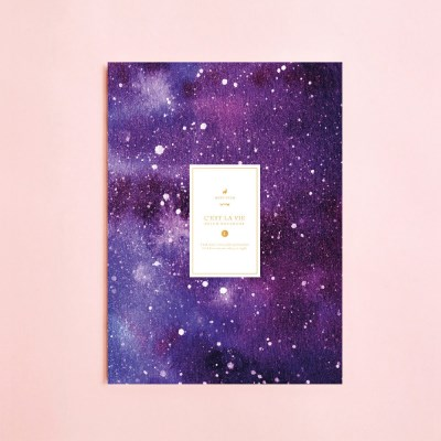 메리킴 밀키웨이갤럭시 패턴 노트