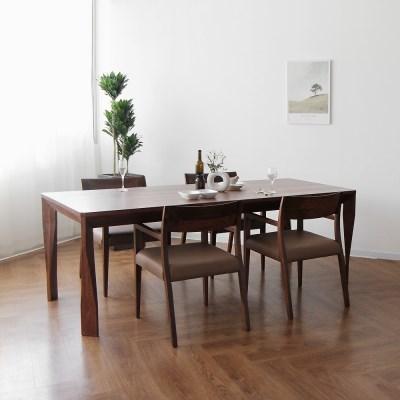 [헤리티지월넛] A3 식탁/테이블 세트