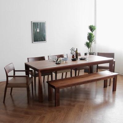 [헤리티지월넛] A1 식탁/테이블 세트