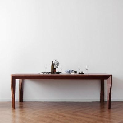[헤리티지월넛] A형 식탁/테이블