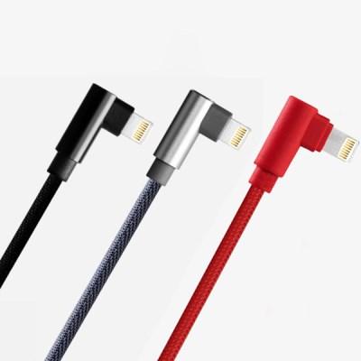 애플 8핀 라이트닝 직각형 충전케이블 1M/2M/3M