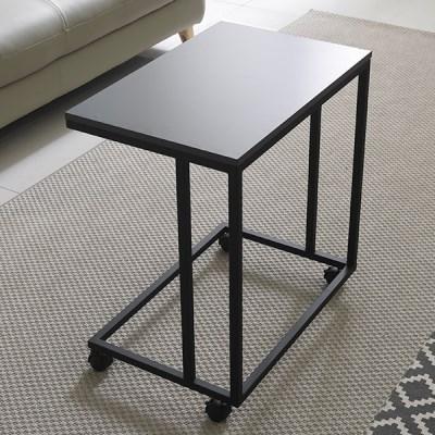 가구데코 LPM 소파 사이드 테이블 이동식바퀴 GM0143