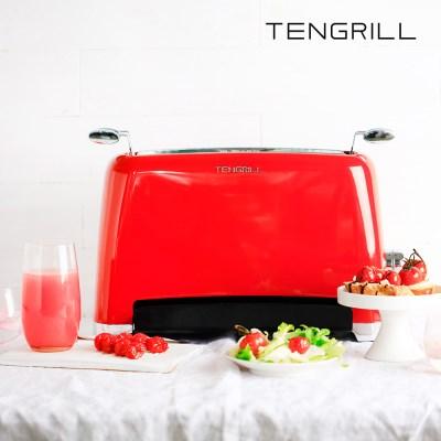 텐그릴 토스터 레드 TGK17-G10 생선토스트기 에어프라이어