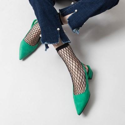 피쉬넷 트랜디한 망사 발목 패션양말