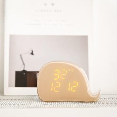 날짜, 온도, 소리센서 고래 알람시계