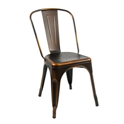 [GAWON] VINTAGE 카페의자 GHY-3534 (옐로우쿠퍼)/철제의자
