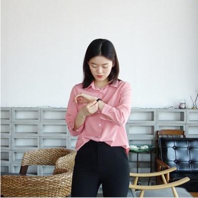 스판 컬러 셔츠 (5color)