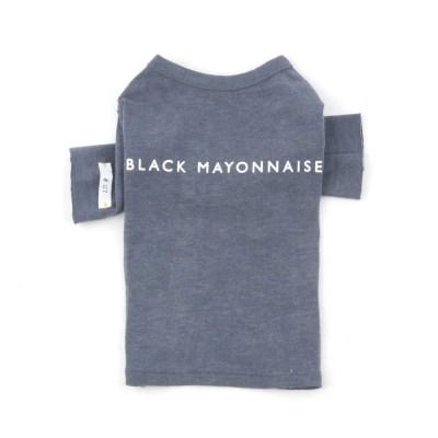 [blackmayonnaise] XOXO Stitch Top_Navy