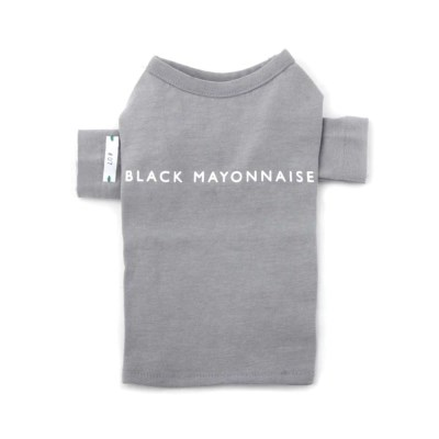 [blackmayonnaise] XOXO Stitch Top_Gray