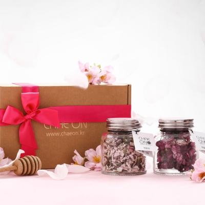 채온 체리블라썸 꽃차 선물세트