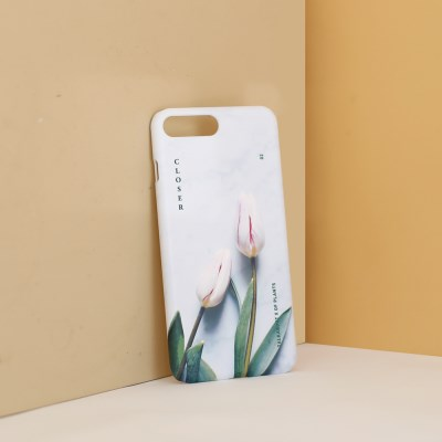 CLOSER white tulip phone case (TALKABOUT x OF PLANTS)