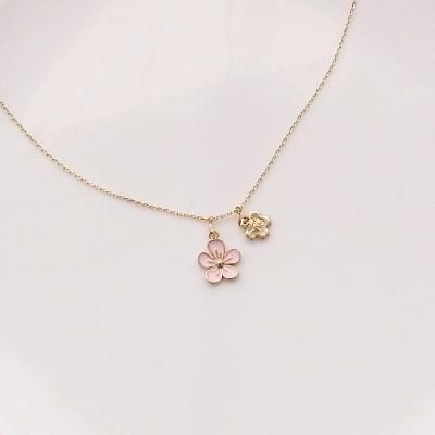 [우아한 공방] 벚꽃 캔디 목걸이