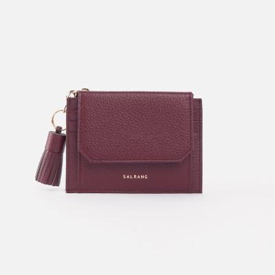 [태슬증정]Reims 303S Cover card Wallet burgundy