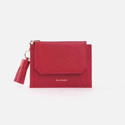 [태슬증정]Reims 303S Cover card Wallet cherry red