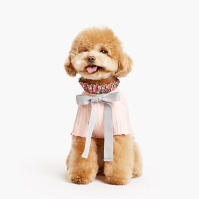 플로럴 티셔츠 핑크