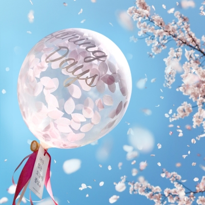 봄날 벚꽃풍선세트 [3pcs]