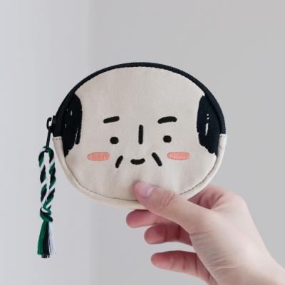 아자씨 얼굴 동전지갑 (3color)