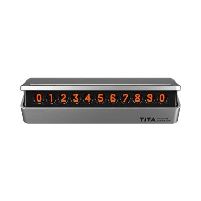 TITA 프리미엄 시크릿 주차 번호판