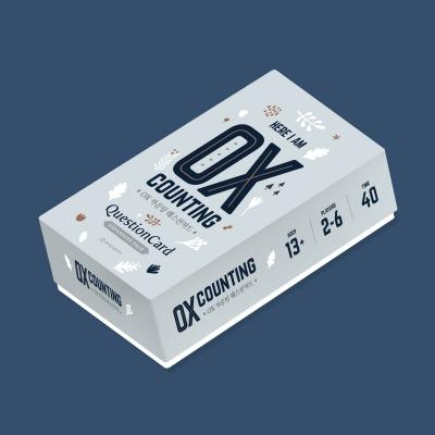 [퀘스천카드 No.3] OX카운팅카드