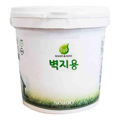 순앤수 수성 벽지용 페인트 계란광 2L