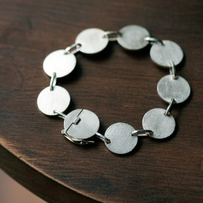 [normaldott] Link bracelet | round type