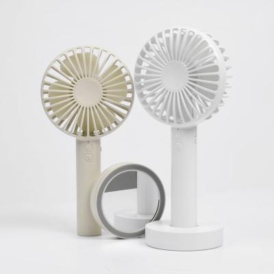 [무아스 ] 미러 핸디팬 - 선풍기와 손거울이 하나로