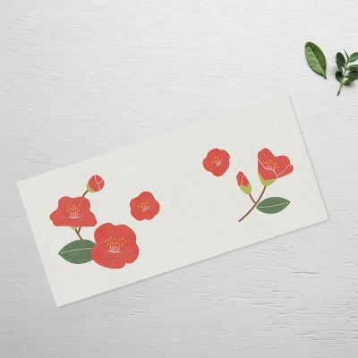 Camellia card set