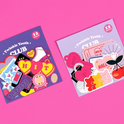 STICKER PACK - TWINKLE YOUTH CLUB