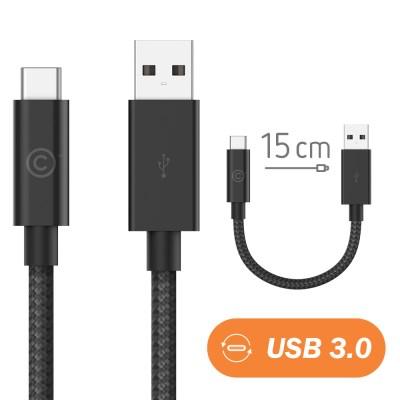 랩씨 3.0 USB C to USB A 충전 데이터 케이블 15cm 맥북_(2090339)