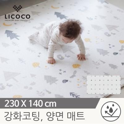 [리코코] 이모션 놀이방매트-메싸프렌즈 230x140x1.5cm/_(839496)