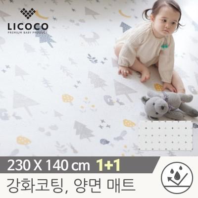 [리코코] 1+1 이모션 놀이방매트-메싸프렌즈 230x140x1._(839492)