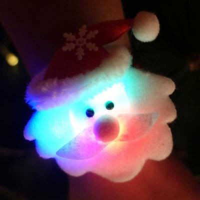 점등 LED 인형팔찌 (산타)_(301528032)
