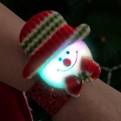 점등 LED 인형팔찌 (눈사람)_(301528030)